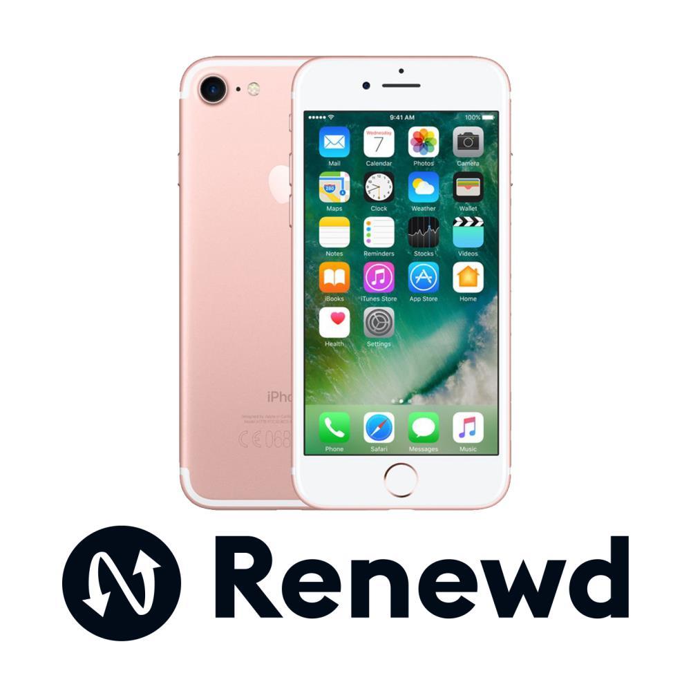 0fb5e9a2282 Smartphone | APPLE RENEWD | iPhone 7 refurbished Renewd | 32 GB | Rose Gold  | 3G | LTE | OS iOS 11 | Screen 4.7