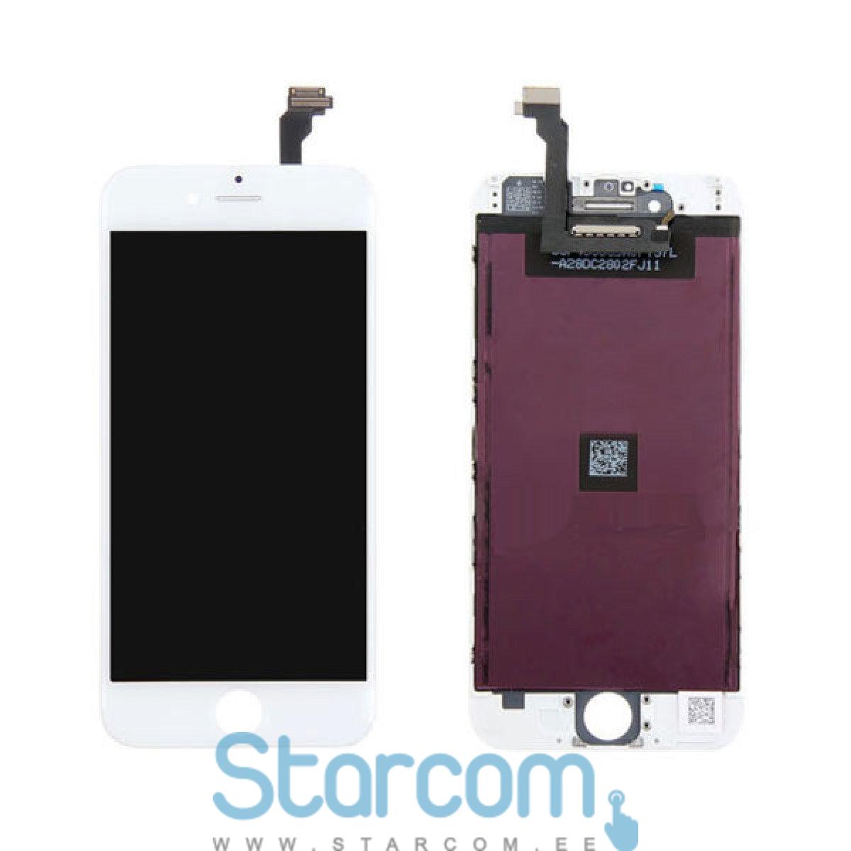 92fbad87047 Apple iPhone 6s plus puutetundlik klaas ja LCD ekraan valge
