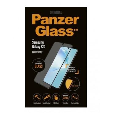 Samsung Galaxy S20 PanzerGlass, ekraanikaitseklaas sõrmejälje-ja ümbrisesõbralik, must