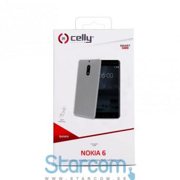 Silikonist ümbris Nokia 6 Celly Gelskin