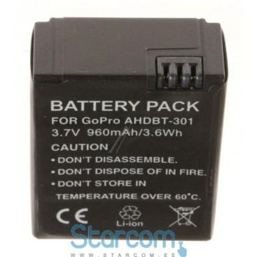 Aku GoPro Hero 3 AHDBT-301 960mAh (Analoog)