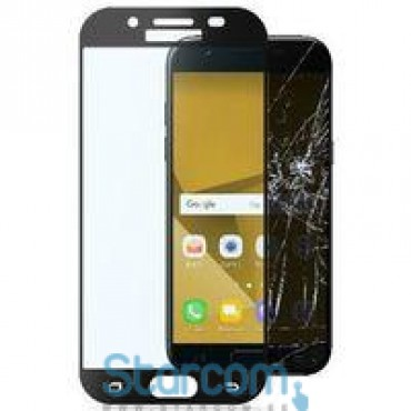 Ekraanikaitseklaas Samsung Galaxy J7 2017 (SM-J730) screen SECOND GLASS Capsul by Cellular Black