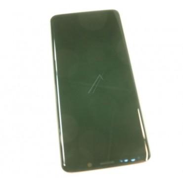 Originaal displei moodul klaas + LCD ekraan Samsung Galaxy S9 (SM-G960F) , Purple GH97-21696B