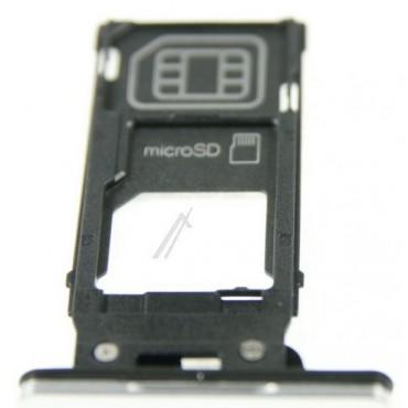 Sony Xperia XZ2 Sim kaardi hoidik / sahtel , hõbedane
