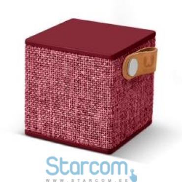 BT Speaker Rockbox Cube Fabriq by Fresh 'n Rebel Ruby