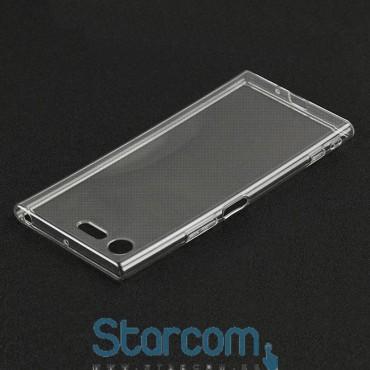 Silikoonist ümbris / tagakaas Sony XZ1 Compact , Läbipaistev