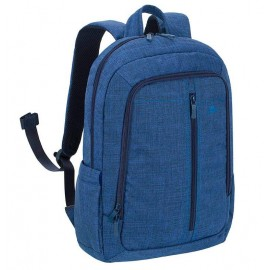 """NB BACKPACK CANVAS 15.6""""/7560 BLUE RIVACASE"""