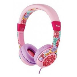 HEADPHONES SPILA KIDS FLOWER/20954 TRUST