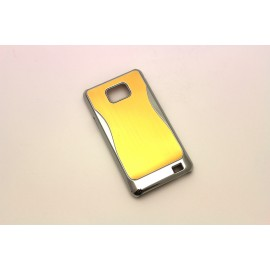 "Plastic case ""Diamond"" Samsung i9100 S2 gold"