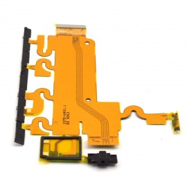Flex Sony L39h C6902/C6903/Xperia Z1 for side buttons with microphone and buzzer connector original