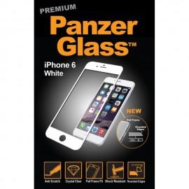 iPhone 6 / 6S, PREMIUM, White/Black, PanzerGlass