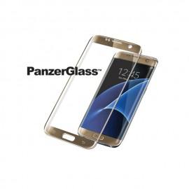 Samsung Galaxy S7 Edge, PREMIUM, Gold/ Black, PanzerGlass