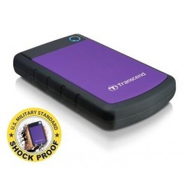 External HDD | TRANSCEND | StoreJet | 2TB | USB 3.0 | Colour Purple | TS2TSJ25H3P