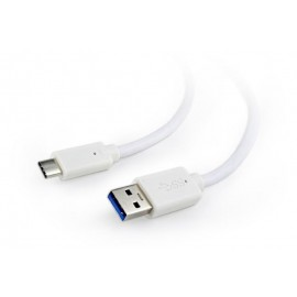 CABLE USB-C TO USB3 0.1M WHITE/CCP-USB3-AMCM-W-0.1M GEMBIRD