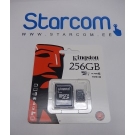 Kingston 256 GB Micro SDXC mälukaart