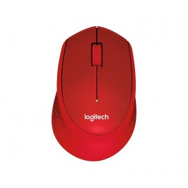 MOUSE USB OPTICAL WRL M330/SILENT RED 910-004911 LOGITECH