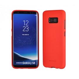 "Case Mercury Goospery ""Soft Jelly Case"" Samsung J330 J3 2017 red"