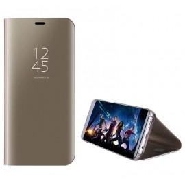 """Case """"Sview"""" Samsung G955 S8 Plus gold"""