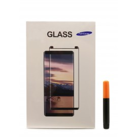 "Tempered glass M1 ""5D UV Glue"" Samsung G965 S9 Plus curved"