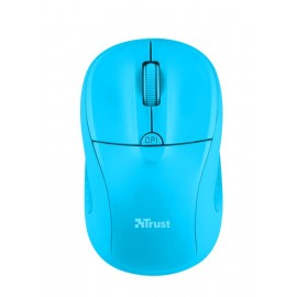 MOUSE USB OPTICAL WRL PRIMO/NEON BLUE 21921 TRUST