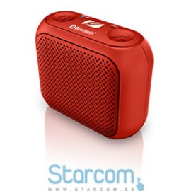 Muse M-312 BTR 2 W, Red, Portable, Wireless connection