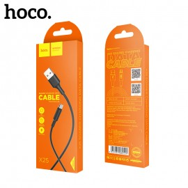 USB cable HOCO X1 Rapid microUSB 1m black