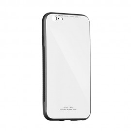 "Case ""Glass Case"" Samsung J610 J6 Plus 2018 white"