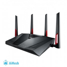 Wireless Router | ASUS | Wireless Router | 3200 Mbps | IEEE 802.11a | IEEE 802.11b | IEEE 802.11g | IEEE 802.11n | IEEE 802.11ac | USB 2.0 | USB 3.0 | 1 WAN | 8x10/100/1000M | Number of antennas 4 | RT-AC88U