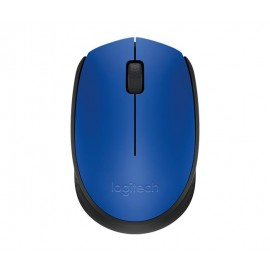 MOUSE USB OPTICAL WRL M171/BLUE 910-004640 LOGITECH