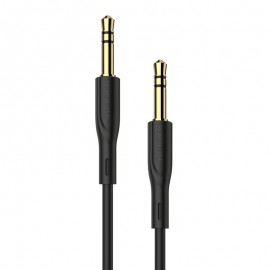 Audio adapter 3,5mm to 3,5mm Borofone B3 black