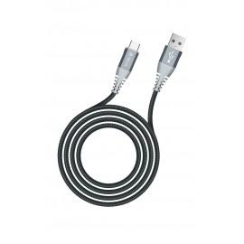 USB cable Devia Shark Type-C 1.5m white