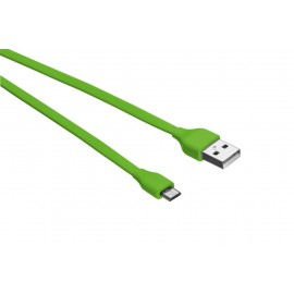 CABLE MICRO-USB 1M/LIME GREEN 20138 TRUST