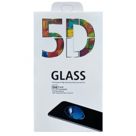 Tempered glass 5D Full Glue Samsung G981 S20/S11e curved black with hole