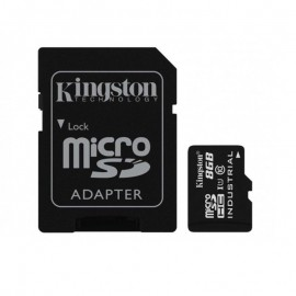 MEMORY MICRO SDHC 8GB UHS-I/W/ADAPTER SDCIT/8GB KINGSTON
