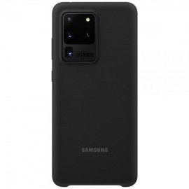 Samsung Galaxy S20 Ultra Silicone Cover EF-PG988TBEGEU originaal silikoonümbris, must (Black)