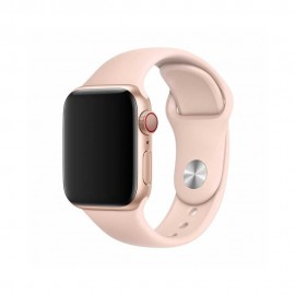 Band Devia Deluxe 44mm Apple Watch pink sand color