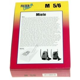 Tolmukotid Miele tolmuimejatele, Filterclean  M 5/6, 5tk pakendis