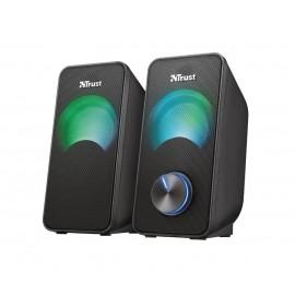 Speaker|TRUST|Arys Compact RGB|Black|23120