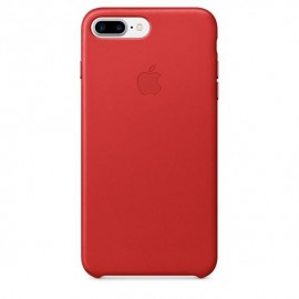 MOBILE COVER LEATHER RED/IPHONE 7+/8+ MMYK2 APPLE