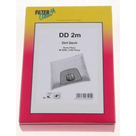 Tolmukotid DD 2M Filterclean Dirt Devil tolmuimejatele 4tk + filter