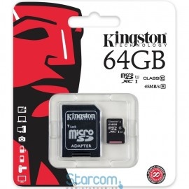 Kingston 64 GB Micro SD mälukaart