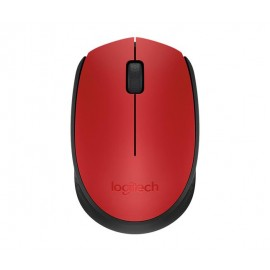 MOUSE USB OPTICAL WRL M171/RED 910-004641 LOGITECH