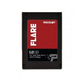 "SSD SATA2.5"" 60GB MLC/FLARE PFL60GS25SSDR PATRIOT"