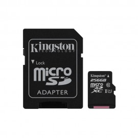 MEMORY MICRO SDXC 256GB UHS-I/W/ADAPTER SDCS/256GB KINGSTON