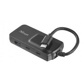 I/O HUB USB-C/3.1 2+2PORT OILA/21321 TRUST