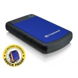 External HDD | TRANSCEND | StoreJet | 2TB | USB 3.0 | Colour Blue | TS2TSJ25H3B
