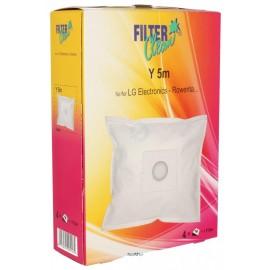 Tolmukotid Filterclean Y 5M tolmuimejatele LG Electronics, Moulinex, Polar, Rowenta ja teised 4tk + filter