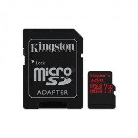 MEMORY MICRO SDHC 32GB UHS-I/W/ADAPTER SDCR/32GB KINGSTON