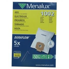 Menalux 1002 Tolmukotid tolmuimejale Electrolux, AEG, Zanussi ja teised