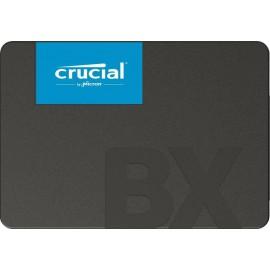 "SSD | CRUCIAL | BX500 | 240GB | SATA 3.0 | Write speed 500 MBytes/sec | Read speed 540 MBytes/sec | 2,5"" | MTBF 1500000 hours | CT240BX500SSD1"